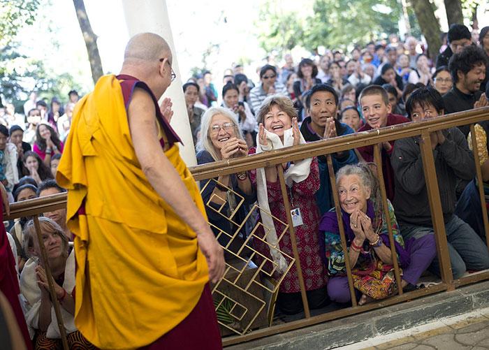 Dalai Lama Teachings Dharamshala Mcleodganj