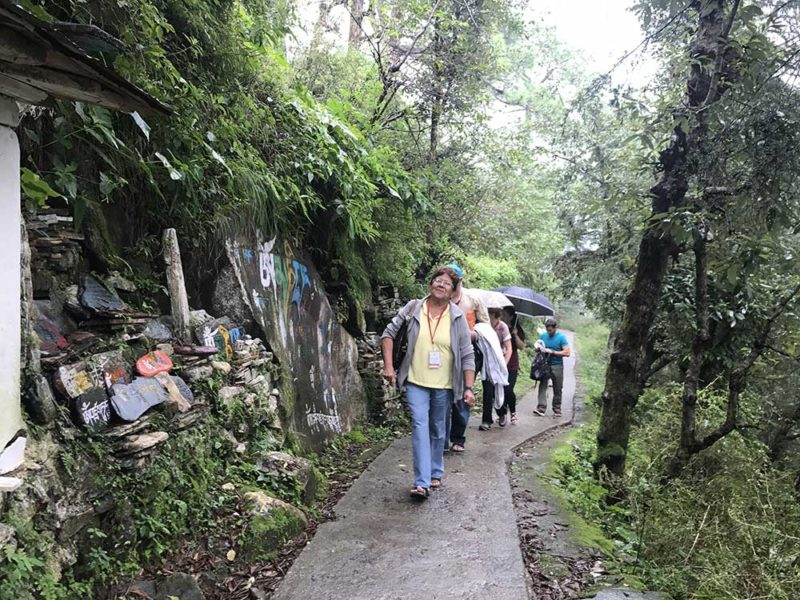 My buddhist experience Retreat tour Dharamshala October sightseeing